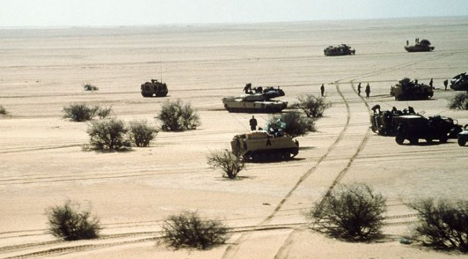 Desert Storm – Valor, Sacrifice & Uncertainty
