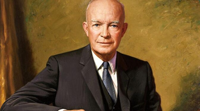 Military-Industrial Complex Speech, Dwight D. Eisenhower, 1961